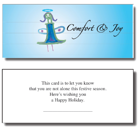 A brilliant holiday fundraising letter that generated 875 roi holiday fundraising letter spiritdancerdesigns Choice Image