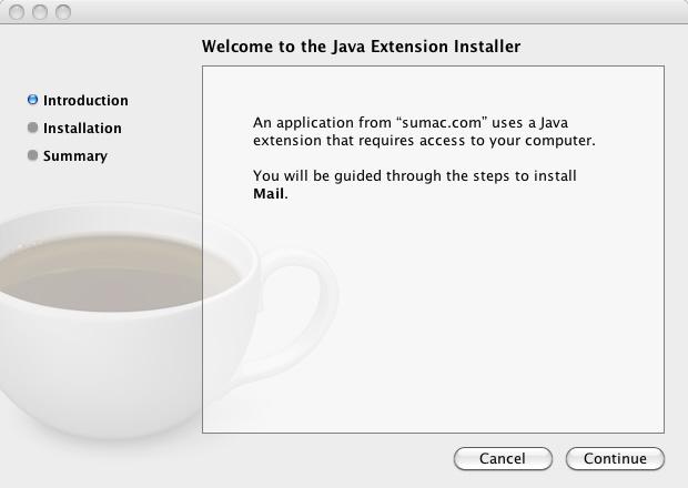 Install Java 1 Install Sumac