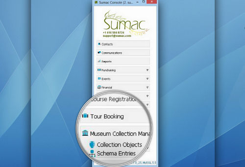 Sumac Collection Management Software