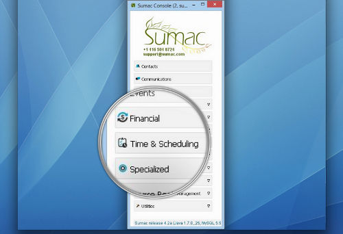 Sumac Reminders Software